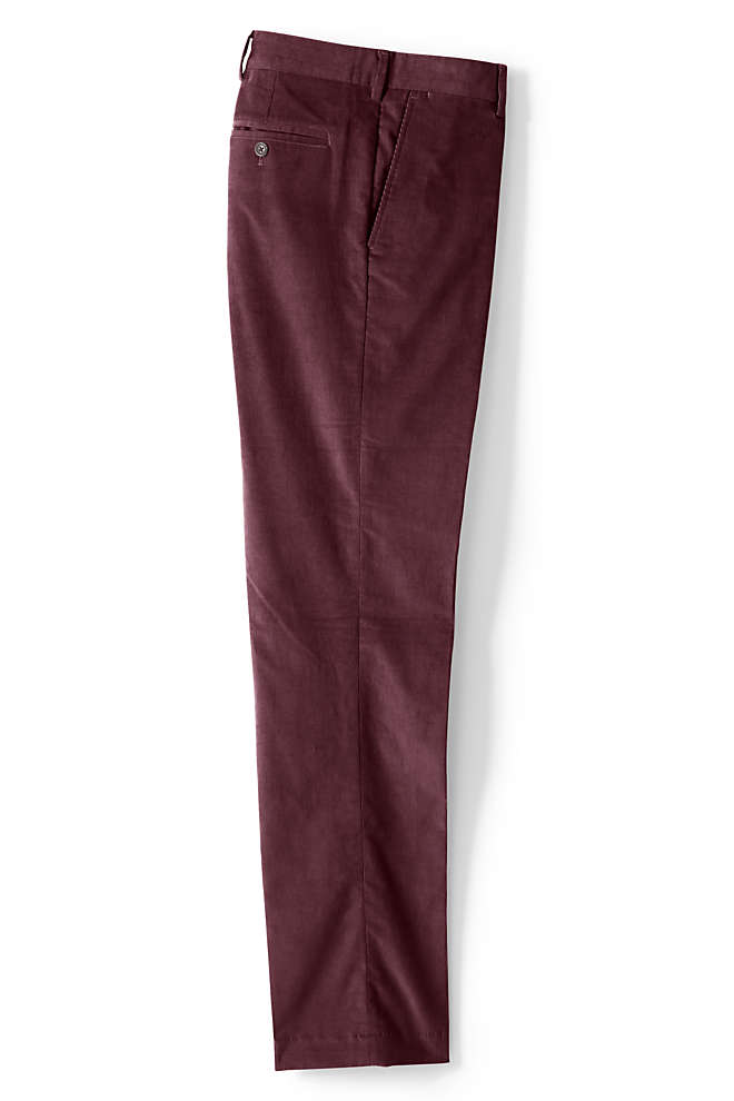 Men's Tailored Fit Comfort-First Fine Wale Corduroy Dress Pants, Front