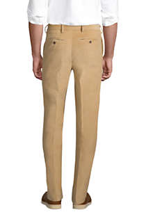Men's Tailored Fit Comfort-First Fine Wale Corduroy Dress Pants, Back