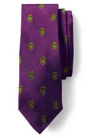 Men's Long Lion Crest Tie