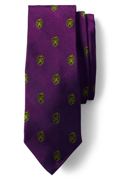 Men's Lion Crest Tie