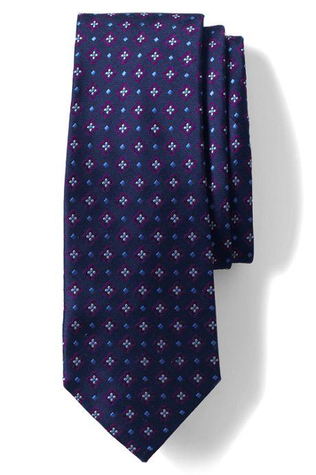 Men's Silk Medallion Multi Neat Tie