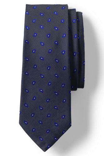 men's oxford weave pines tie