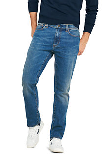 Men's Square Rigger Stretch Jeans, Slim Fit