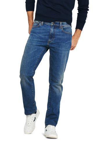 Men's Square Rigger Stretch Jeans, Slim Fit