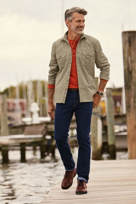 Men's Slim Fit Comfort-First Jeans