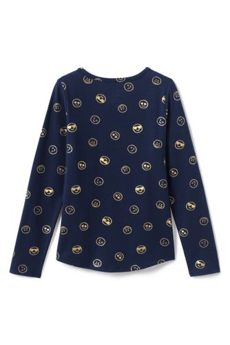 Girls Plus Size Print Core T Shirt