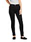 Jean Curvy Skinny Taille Mi-Haute Noir, Femme Stature Standard