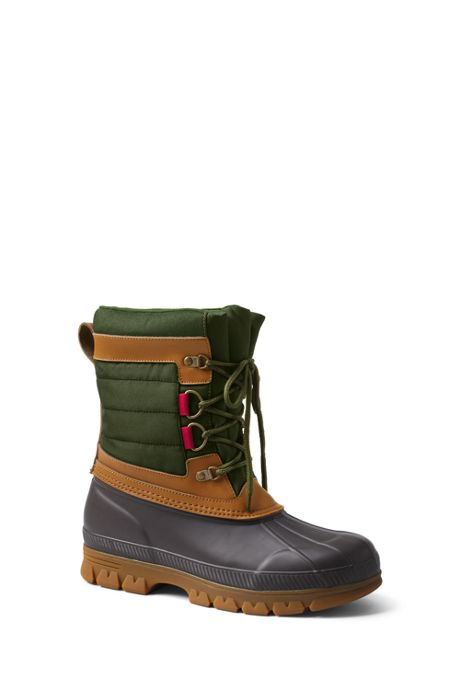 Men's Expedition Nylon Winter Snow Boots