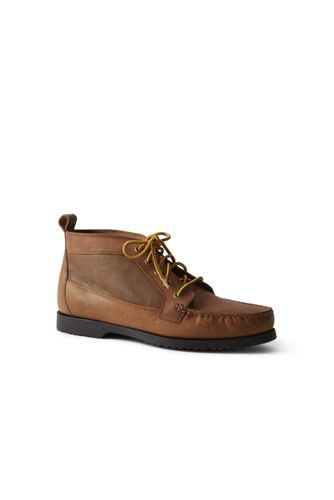 Men's Moc Chukka Boots by Lands' End