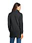 Lange Strickfleece-Jacke für Damen in Plusgröße