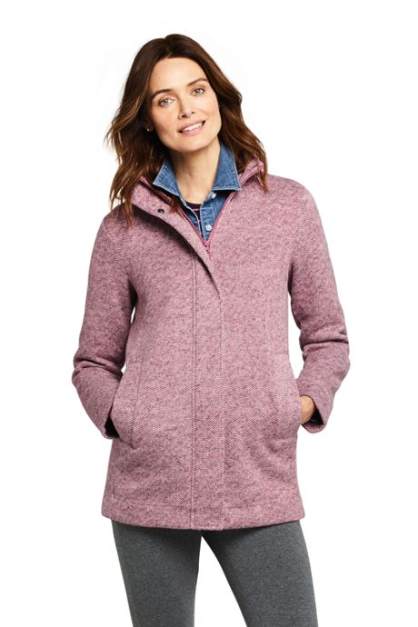 Women's Sweater Fleece Coat
