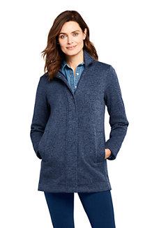 Women's Sweater Fleece Coat