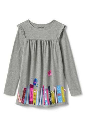 Toddler Girls' Graphic Tunic Top