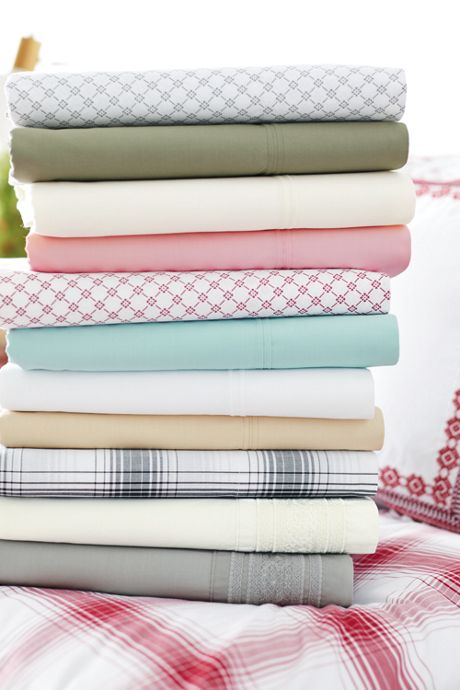 Percale Print Pillowcases (Set of 2)