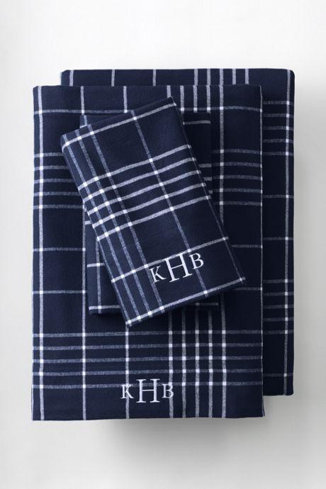 5 oz. Print Velvet Flannel Sheets
