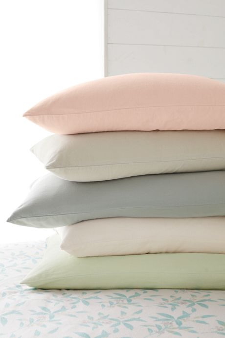 Organic 5 oz. Flannel Pillowcases (Set of 2)