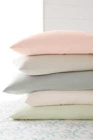Organic 5 oz. Flannel Pillowcases (Set of 2)