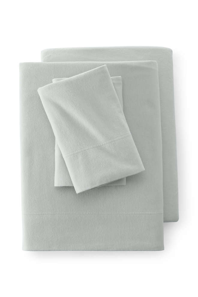 Organic 5 oz. Flannel Sheets, Front