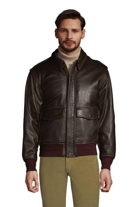 Men's Willis & Geiger Leather Bomber Jacket