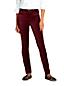 Le Pantalon Slim en Velours Stretch Taille Mi-Haute, Femme Stature Standard
