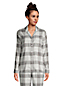 La Chemise de Pyjama en Flanelle à Motifs, Femme Stature Standard