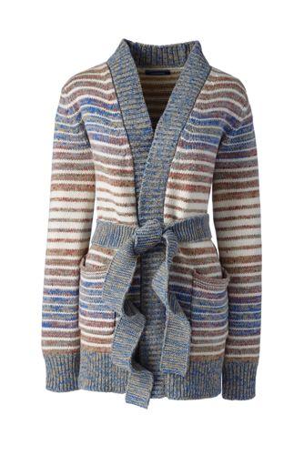 Women's Tall Lofty Blend Tie Cardigan Sweater