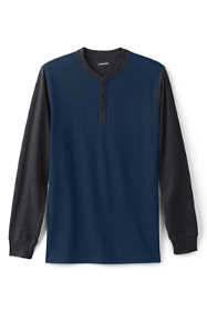 Men's Long Sleeve Super T Baseball Henley