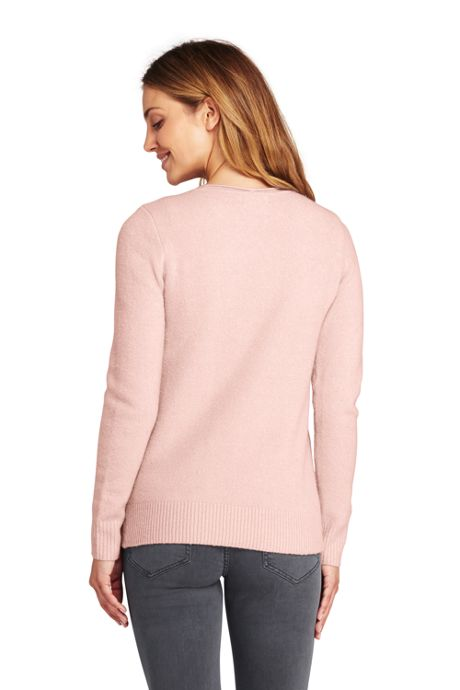 Women's Boucle Roll Neck Sweater
