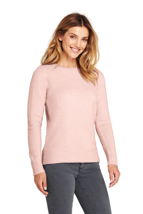 Women's Tall Boucle Roll Neck Sweater