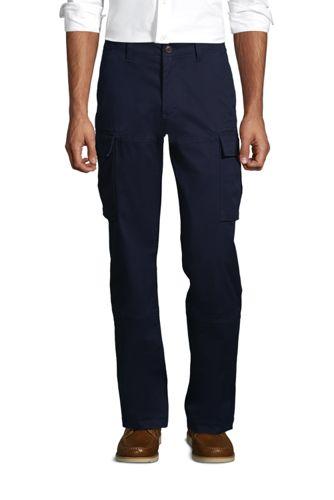Le Pantalon Cargo Classique Stretch Ourlets Sur-Mesure, Homme Stature Standard