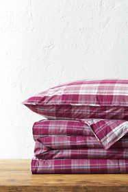 Percale Plaid Comforter