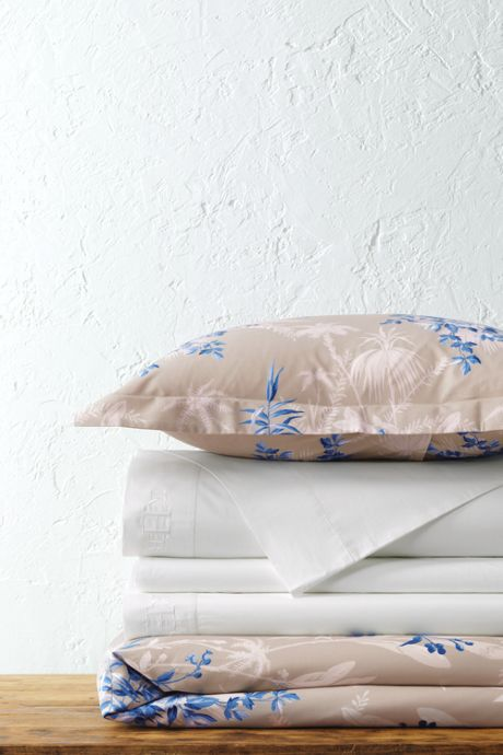 300 Percale Print Duvet Cover