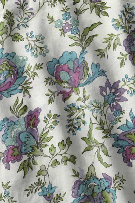 Linen Print Shams