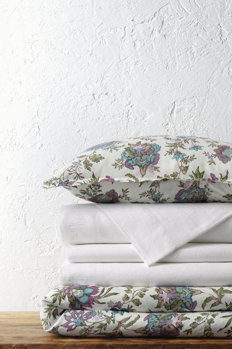 Linen Print Duvet Cover