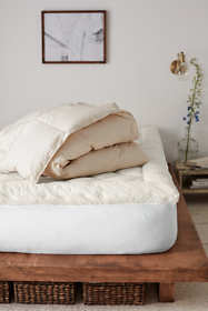 Organic Cotton Down Comforter