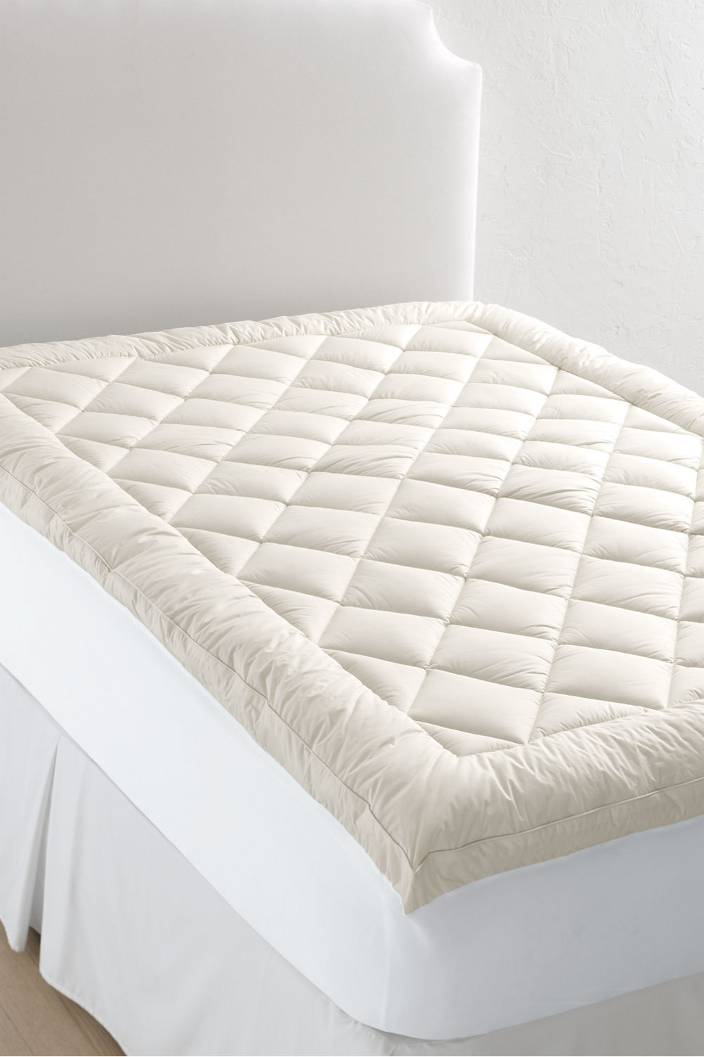 organic cotton mattress pad from lands end - Organic Cotton Mattress
