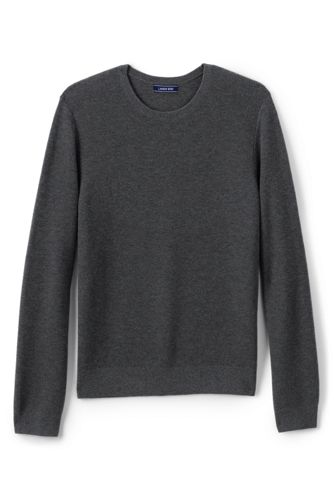 Men's Merino Blend Crew Neck Jumper