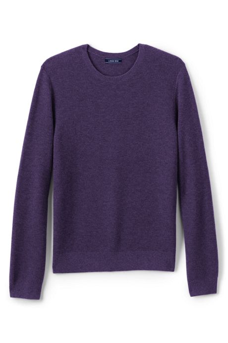 Men's Performance Texture Merino Crew Sweater