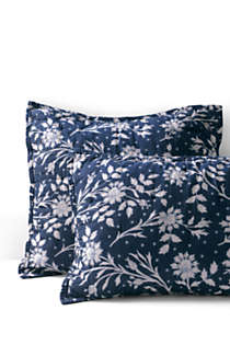 Printed Pattern Shams, Front