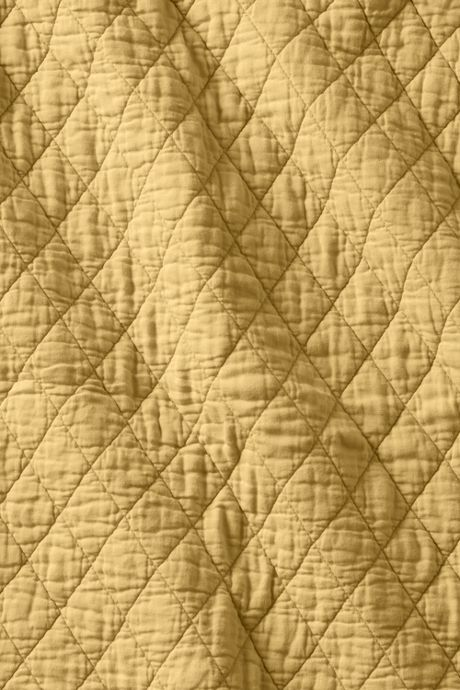 Solid Diamond Double Voile Quilt
