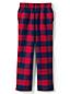 Gemusterte Flanell-Pyjamahose für Kinder