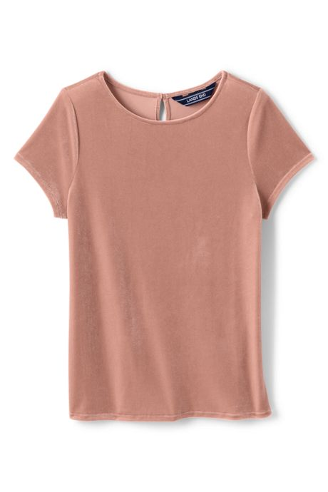 Little Girls Velveteen Tee