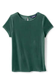Girls Plus Velveteen Tee