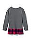Girl's Ruffle Hem Sweater Tunic