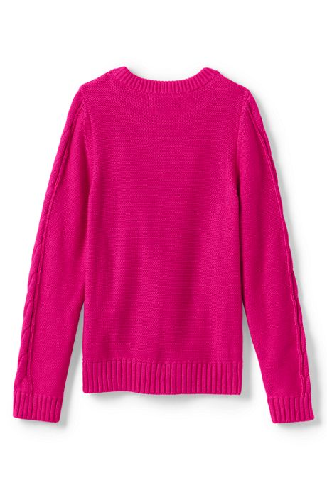 Girls Drifter Cable Sweater