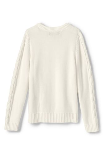 Girls Plus Drifter Cable Sweater