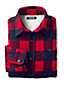 Boys' Sherpa-lined Flannel Shirt Jacket