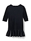 Little Girls' Drop Waist Velveteen Dress
