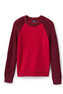 Boys' Colourblock Fisherman Jumper