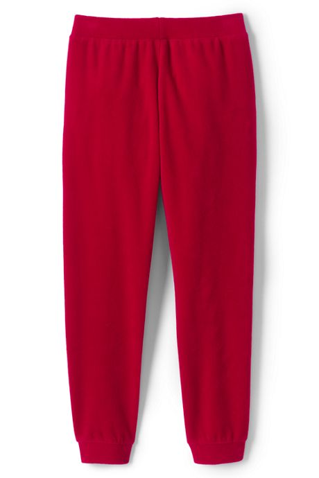 Girls Plus Size Plush Jogger Sweatpants